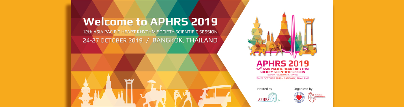 APHRS 2019 Bangkok: The 12th APHRS Scientific Session